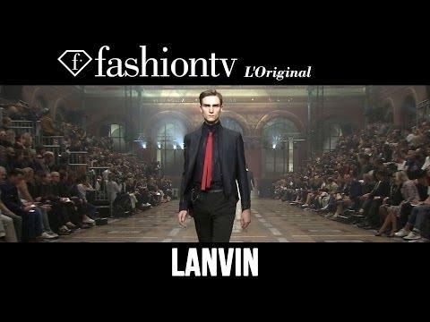 Lanvin Men Spring/Summer 2015 | Paris Men's Fashion Week | FashionTV