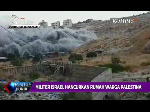 Militer Israel Hancurkan Rumah Warga Palestina Di Jerusalem Timur
