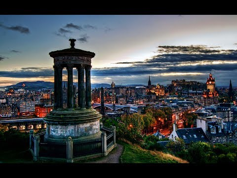 Edinburgh with a GoPro