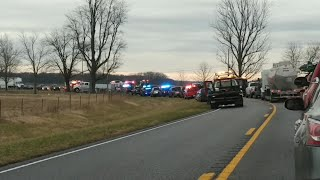 One person airlifted from US 60 accident in Union County
