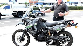 2016 KLR 650 MODIFIED 9000 km Quick Review .........