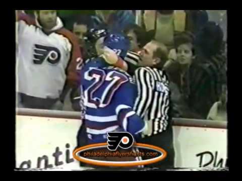 the latest 8b27b b27c7 Jan 28, 1988 Joe Paterson vs Nick Fotiu New York Rangers vs Philadelphia  Flyers