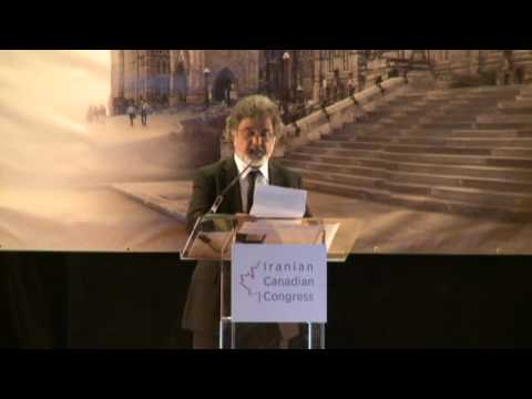 Dariush Eghbali's Speech at ICC Achievement Awards Gala