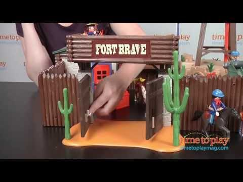 Western Fort From Playmobil Youtube