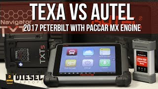 Download Video TEXA vs Autel on 2017 Peterbilt with PACCAR MX Engine MP3 3GP MP4