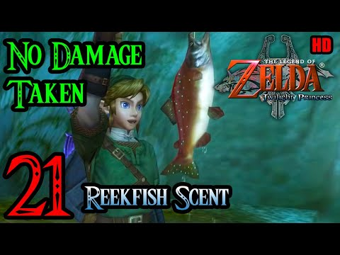 Zelda Twilight Princess Wii 100% Walkthrough 1080p HD Part 21 - Reekfish Scent - Snowpeak Yeti