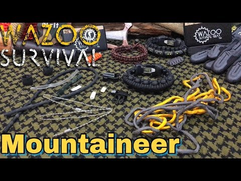 The NEW Mountaineer | Components Testing | Wazoo Survival Gear