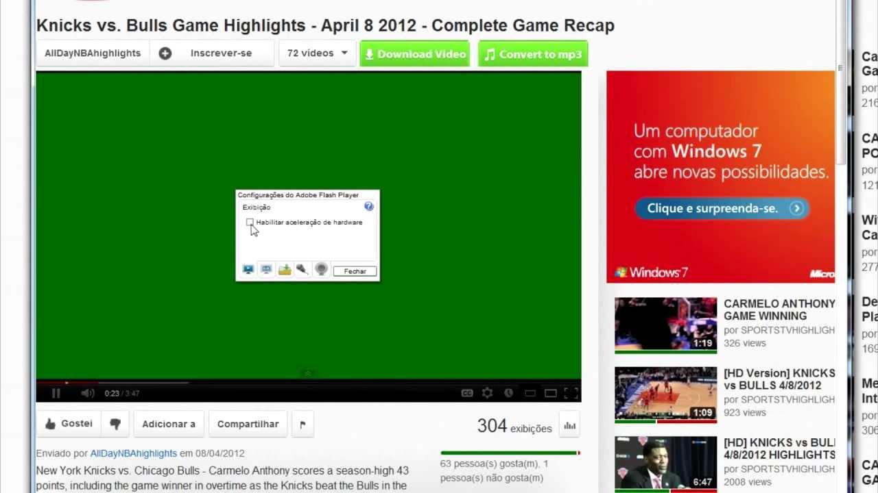 Tela verde nos v deos do youtube resolvido youtube - Telas de tapicerias para sofas ...