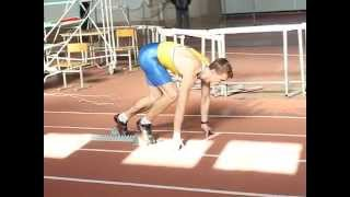 Легка атлетика. Чемпіонат України серед ветеранів 7.03.15 200м