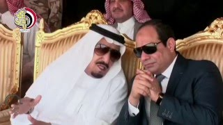 """المتحدث العسكرى يعرض فيديو حضور الرئيس السيسى ختام """"رعد الشمال"""""""