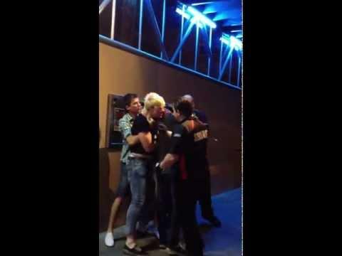 Bouncer Punches Up An Arrogant Club Patron