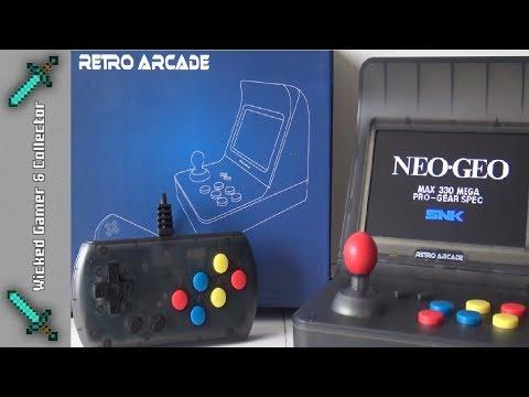 Retro Mini Arcade Machine / NOT SNK Neo Geo / Multi Platform - Sega /  Nintendo / GBA