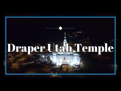 Draper Temple Drone Footage