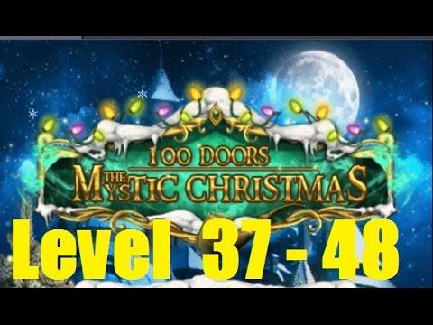 100 Doors The Mystic Christmas  - Level 37 - 48 Episod 4  100 Дверей Мистичное Рождество Walkthrough