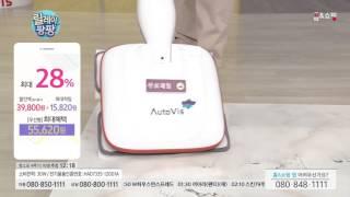 [홈앤쇼핑] 오토비스 유선형 물걸레청소기 [극세사걸레6…