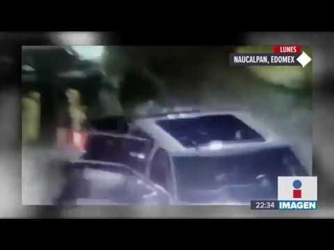 Revelan segundo video de comando en Naucalpan | Noticias con Ciro