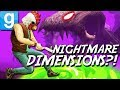 TRAVELING TO INSANE DIMENSIONS?! | Gmod Nightmare Realms
