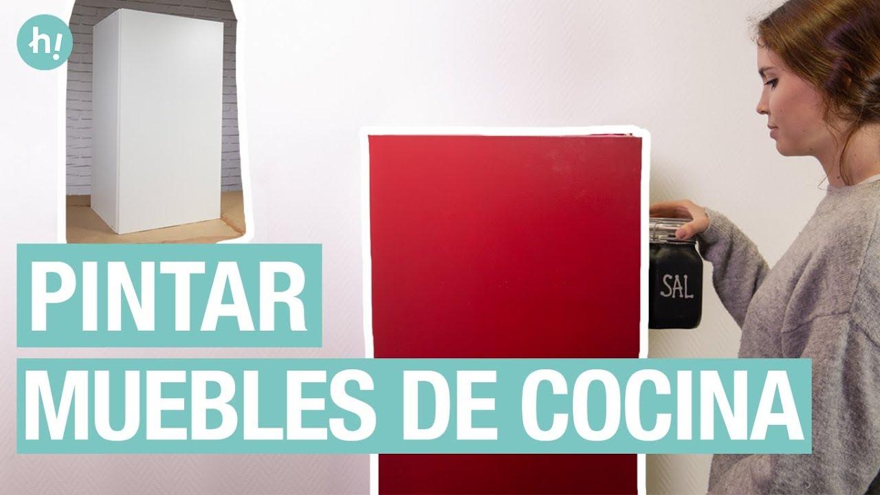 Pintar muebles de cocina | Cambiar de color muebles de cocina | Handfie