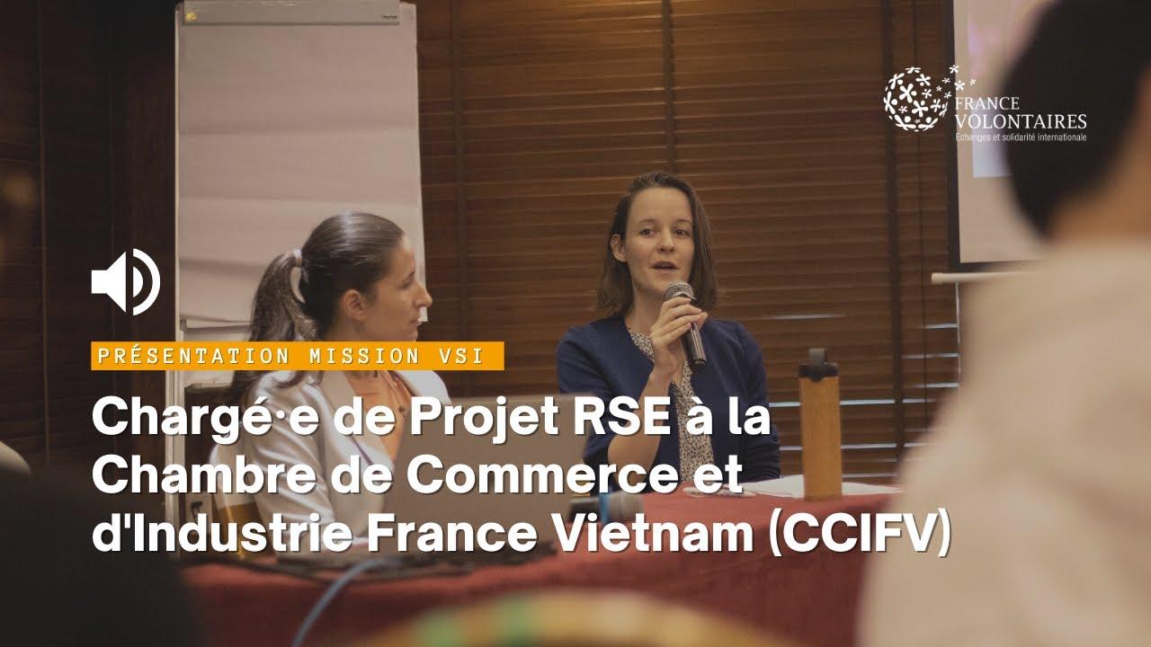 Download Présentation de la mission VSI portée par France Volontaires au sein de la CCI au Vietnam