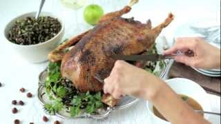 How To Roast Goose With Stuffing - Recipe - Allrecipes.co.uk