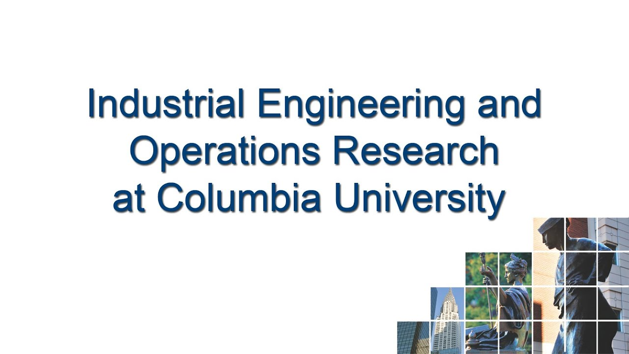 MS in Industrial Engineering | Department of Industrial ...