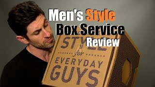 Men's Curated Box Service Review | Men's Style Lab Unboxing