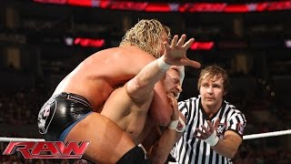 Daniel Bryan vs. Dolph Ziggler with Special Guest Referee Dean Ambrose: Raw, March 23, 2015