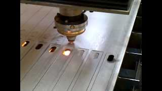 Laser Cutting 10mm Thick Stainless Steel
