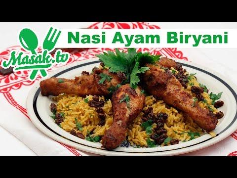 Resep Nasi Ayam Biryani