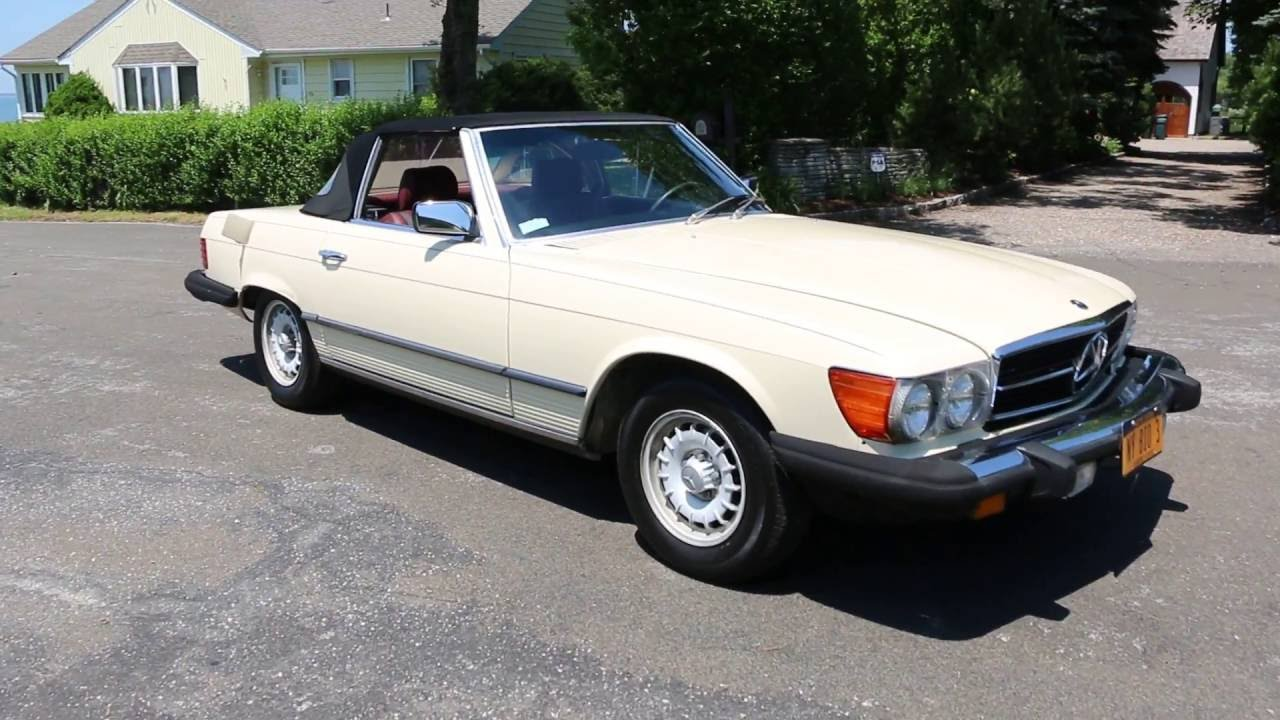 1985 mercedes benz 380sl convertible for sale only 2 for New mercedes benz convertible