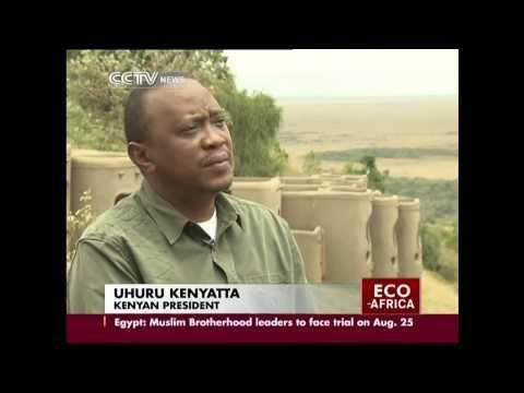 Uhuru Kenyatta interview with Beatrice Marshall of CCTV