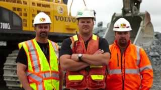 Volvo Construction Equipment & LTL Contracting: Tough Equipment Battles Hard Rock