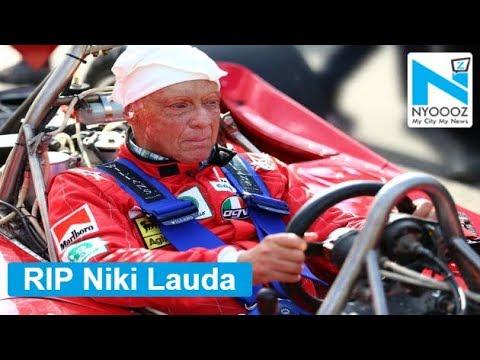 Niki Lauda Formula 1 legend dies at 70