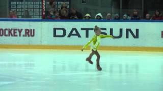 ЕгороваКарина 5 лет 3-й юношеский фигурное катание