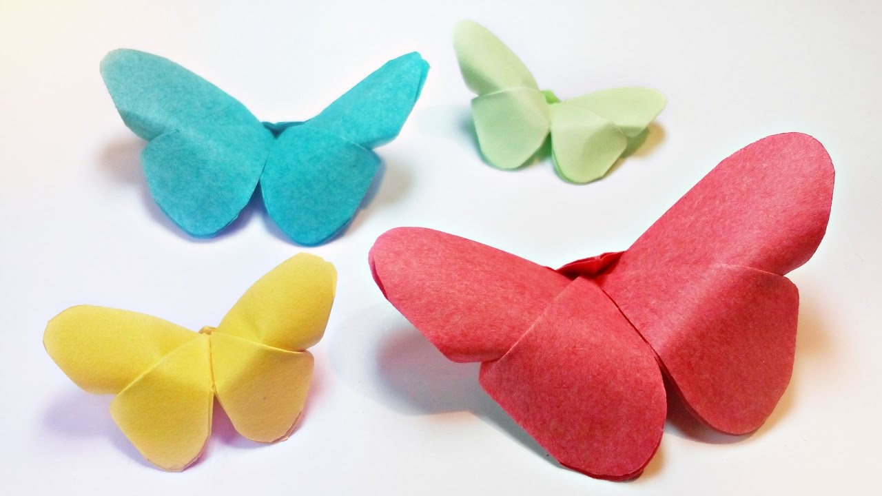 Simple origami Instructions ; butterfly | Origami butterfly ... | 720x1280