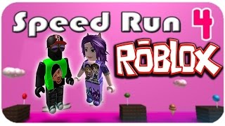 ROBLOX: SPEED RUN 2ª Parte con EPIC FAIL ALEXA!!!