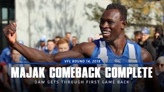Majak Daw comeback (VFL: Round 14, 2019)