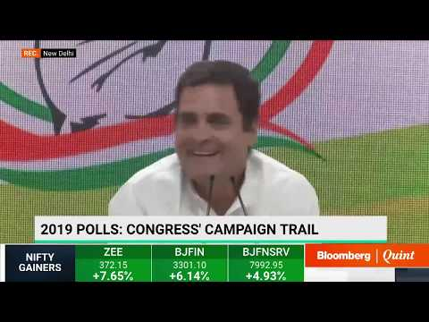 Rahul Gandhi Addresses Media On The Last Day Of Campaigning