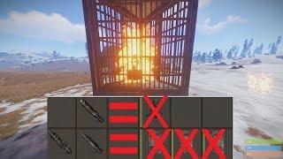 Rust Как легко уничтожить турель.