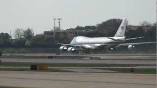 Exclusive Look at Air Force One Touching Down at Hartsfield-Jackson Atlanta International Airport
