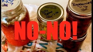 NO-NO! Don't Do This With Your Canned Goods! ~