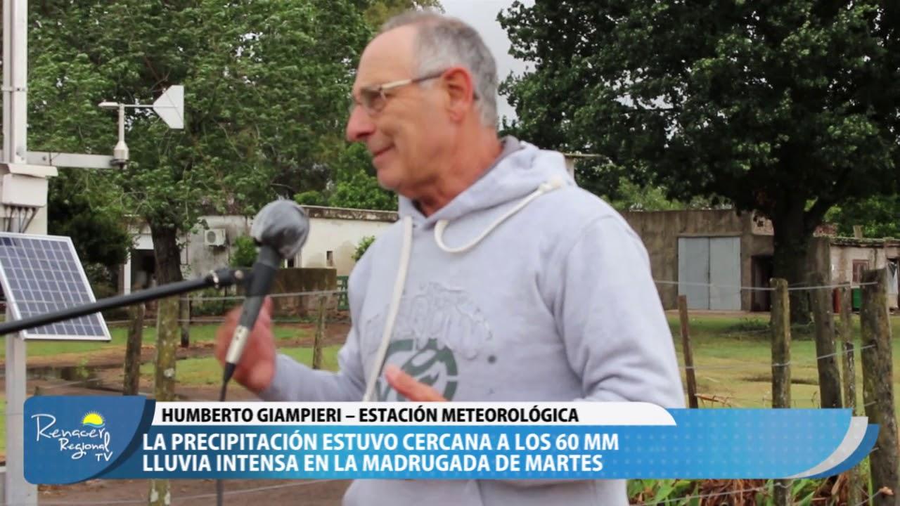 20-10-20 Nota Humberto Giampieri – Estación Meteorológica