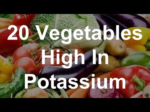 20 Vegetables High In Potassium