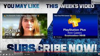 (836) PS4 - Fortnite Season 6: Battle Pass Trailer (2018)