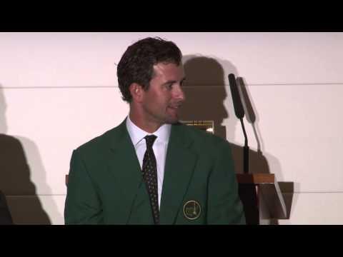 Adam Scott Interview at The Royal Melbourne Golf Club Members Dinner