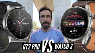 Huawei WATCH 3 vs  Huawei WATCH GT 2 Pro Decisão Final