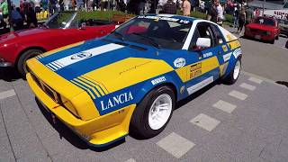 Lancia montecarlo !  classic racing car !  group 4 !  walkaround + interior !
