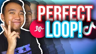 HOW TO MAKE A PERFECT LOOP ON TIKTOK! #PerfectLoop (iOS & Android) *NEW*
