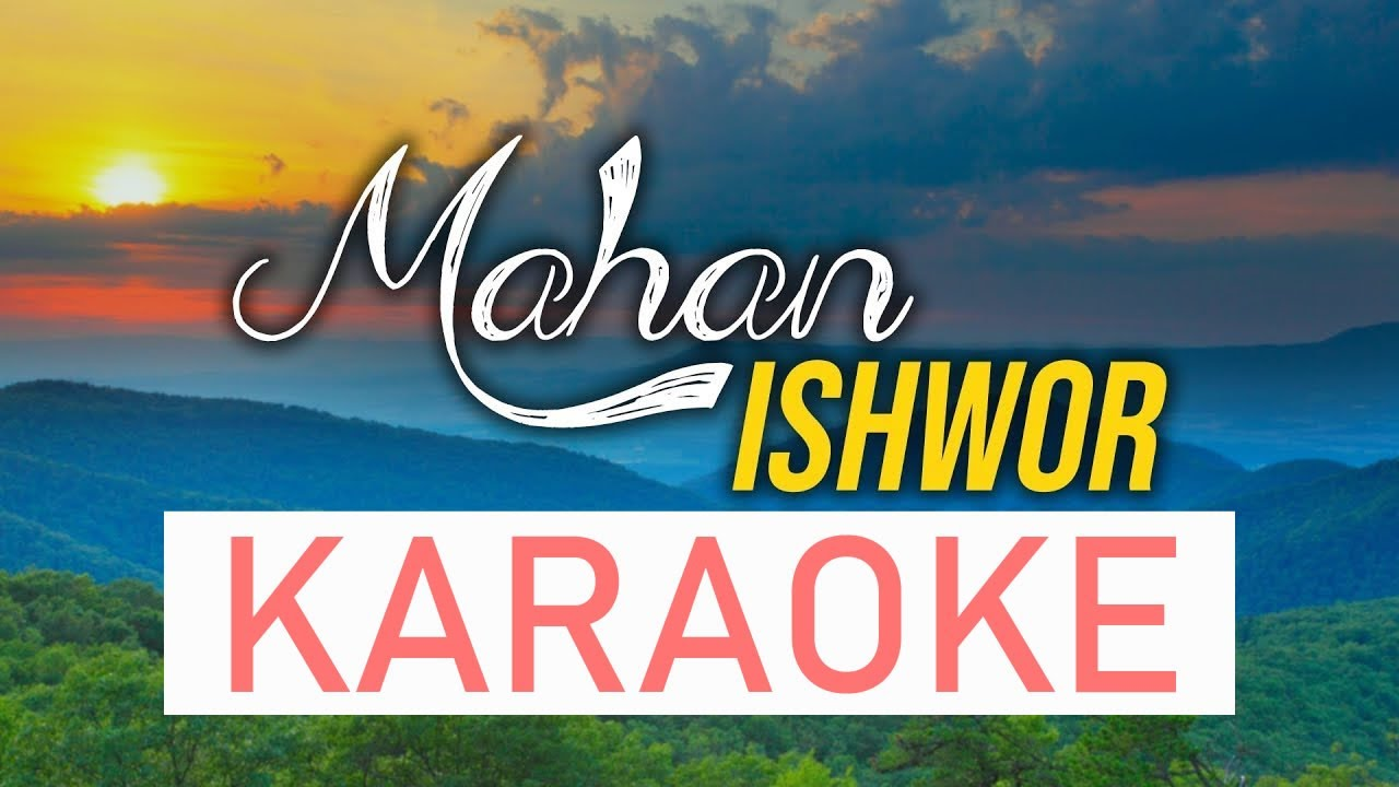 Mahan Ishwor - Karaoke Track | Nepali Christian Song