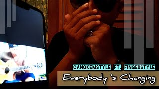 EVERYBODY'S CHANGING - ALIP_BA_TA COVER | Collabs Fingerstyle Cangkemstyle | Cekidot !!